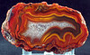 4-0z Fairburn Agate; 6.8cm x 3.8cm x 3cm.